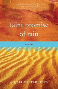 Faint Promise of Rain, cover
