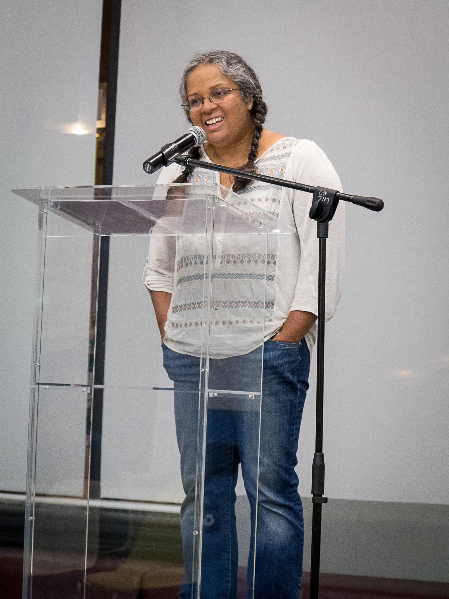 Festival director Mary Anne Mohanraj