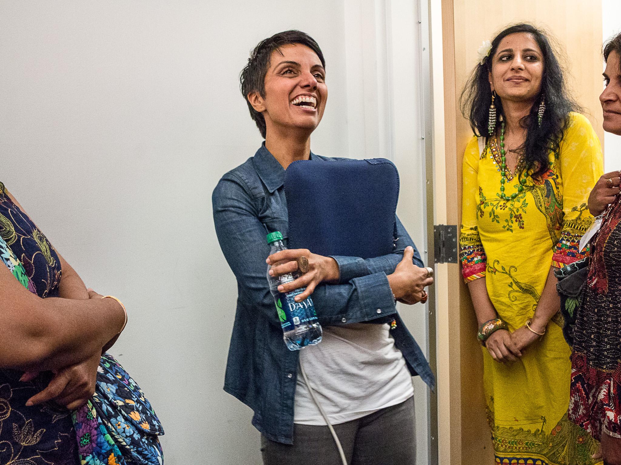 Fawzia Mirza and Neha Misra
