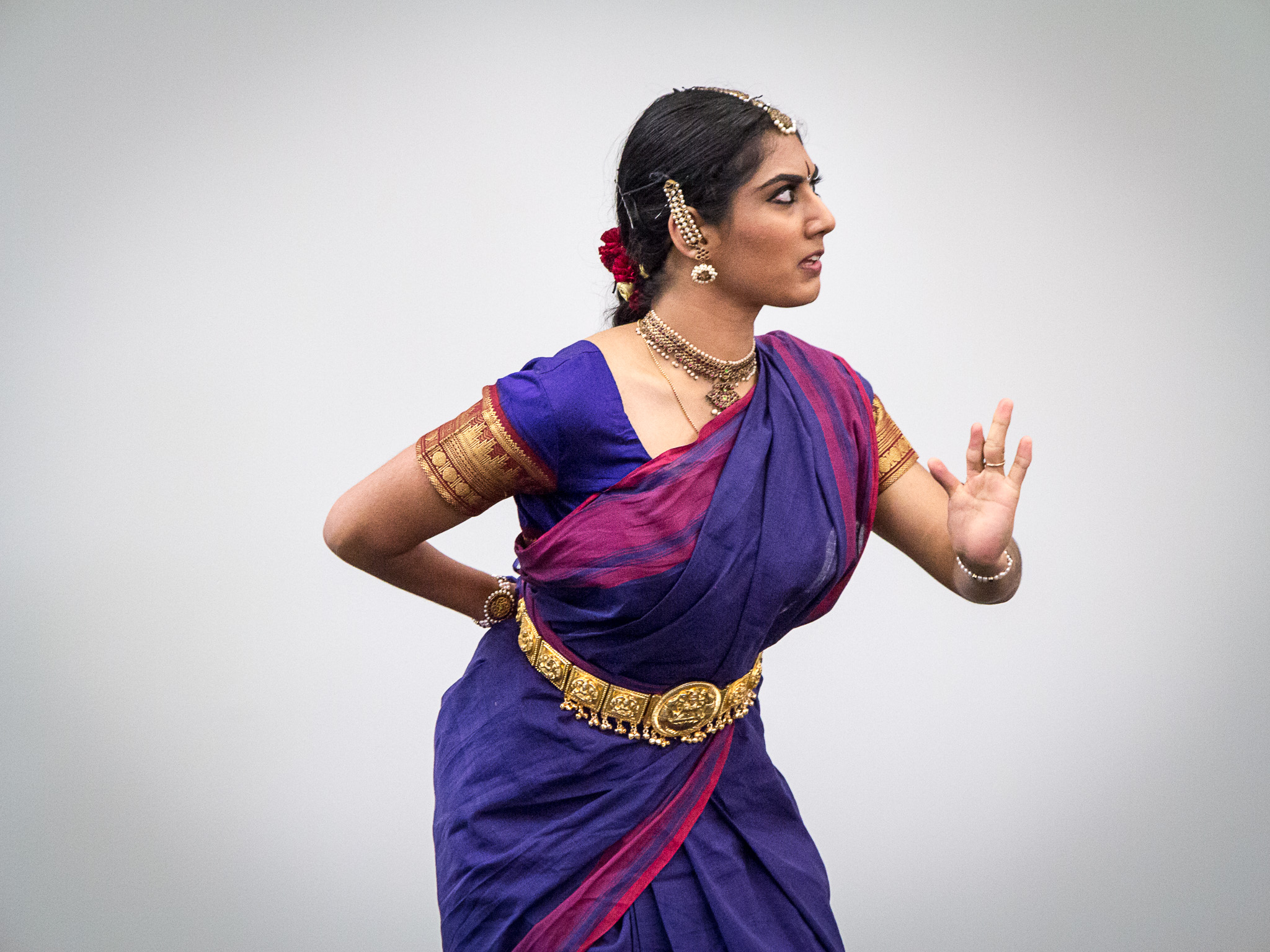 Sutikshna Veeravali's classical dance performance